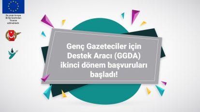 500 Avro'dan 1500 Avro'ya kadar ayni destek sağlanacak Genç Gazeteciler için Destek Aracı (GGDA) ikinci dönem başvuruları başladı!