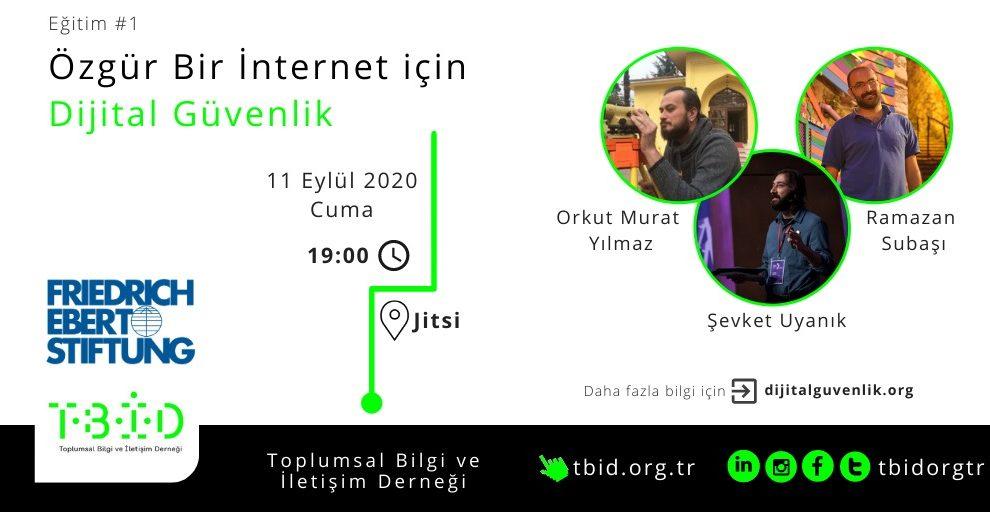 Toplumsal Bilgi ve İletişim Derneği'nden Özgür Bir İnternet İçin Dijital Güvenlik Eğitimi
