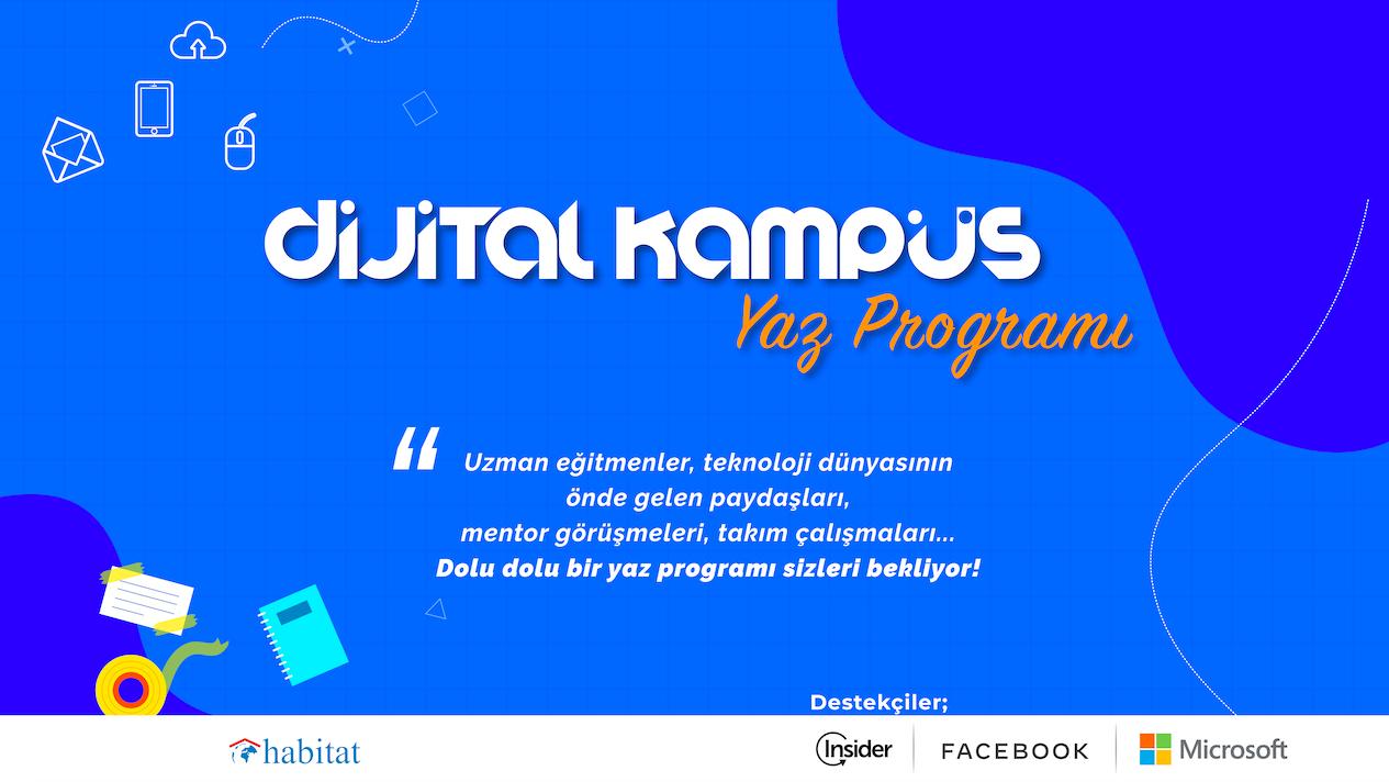 Habitat Derneği'nin Yeni Öğrenme Merkezi Dijital Kampüs'ün İlk Etkinliği Yaz Programı Başladı