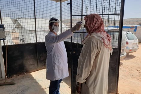 Dünya Doktorları Derneği Suriye'de pandemiyle de mücadele ediyor