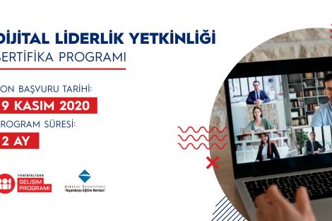 """""""Yenibirlider Dijital Liderlik Yetkinliği"""" Sertifika Programı"""