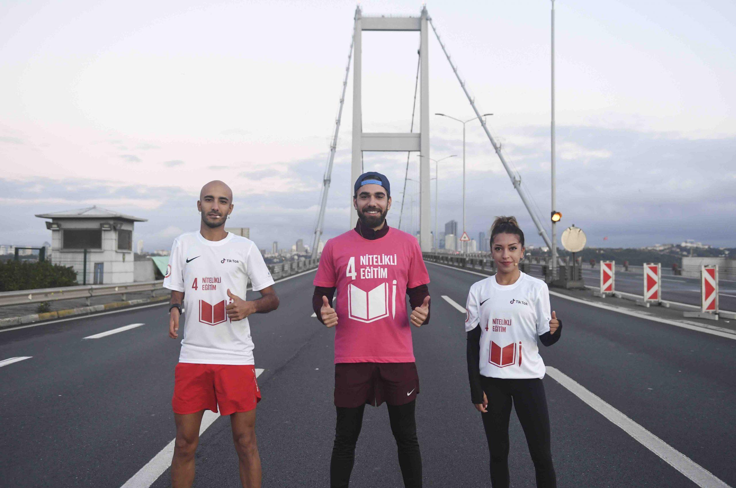 TikTok, İstanbul Büyükşehir Belediyesi Spor Kulübü ve İBB İştirak Şirketi Spor İstanbul ile Sürdürülebilir Kalkınma Amaçları farkındalığı için bir araya geldi