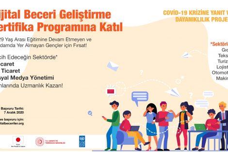 Dijital Beceri Geliştirme Sertifika Programı