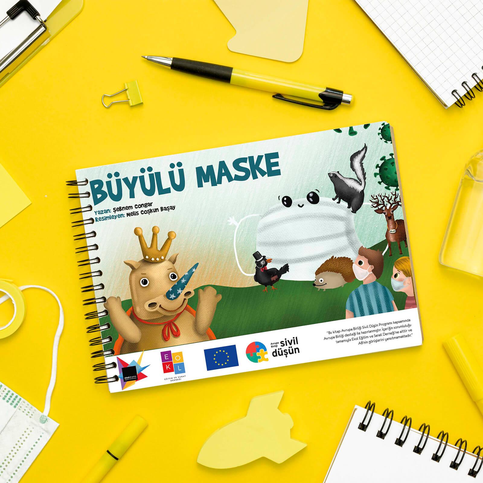 Büyülü Maske Hikaye Kitabı