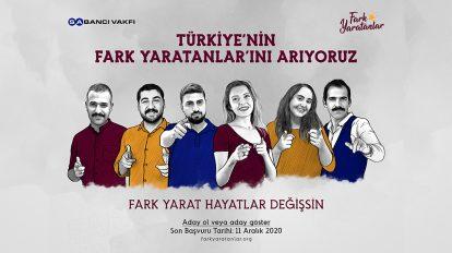 Sabancı Vakfı Türkiye'nin Fark Yaratanlarını Arıyor!