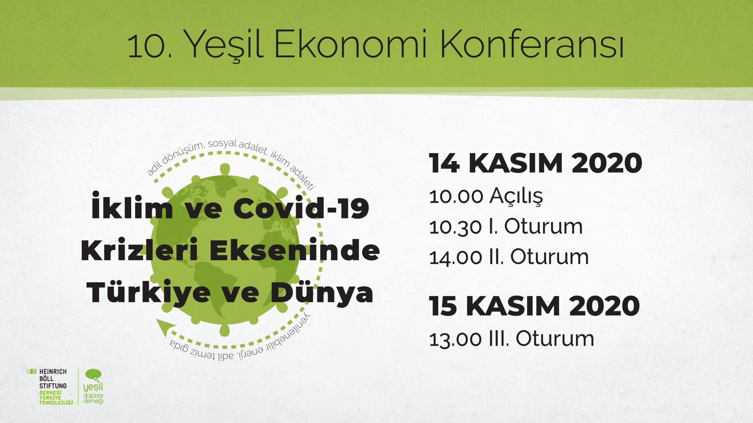 10. Yeşil Ekonomi Konferansı