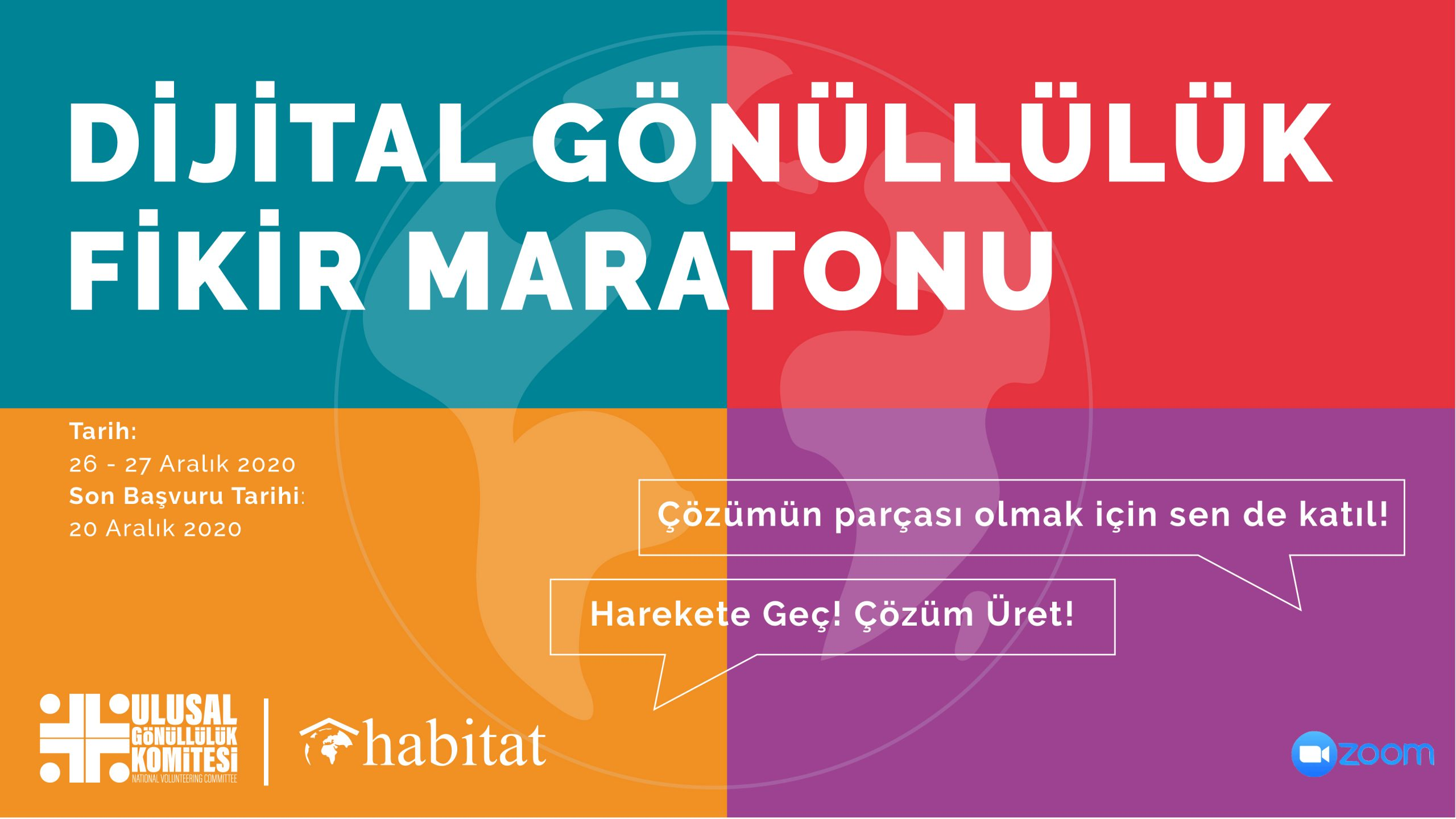 Dijital Gönüllülük Fikir Maratonu