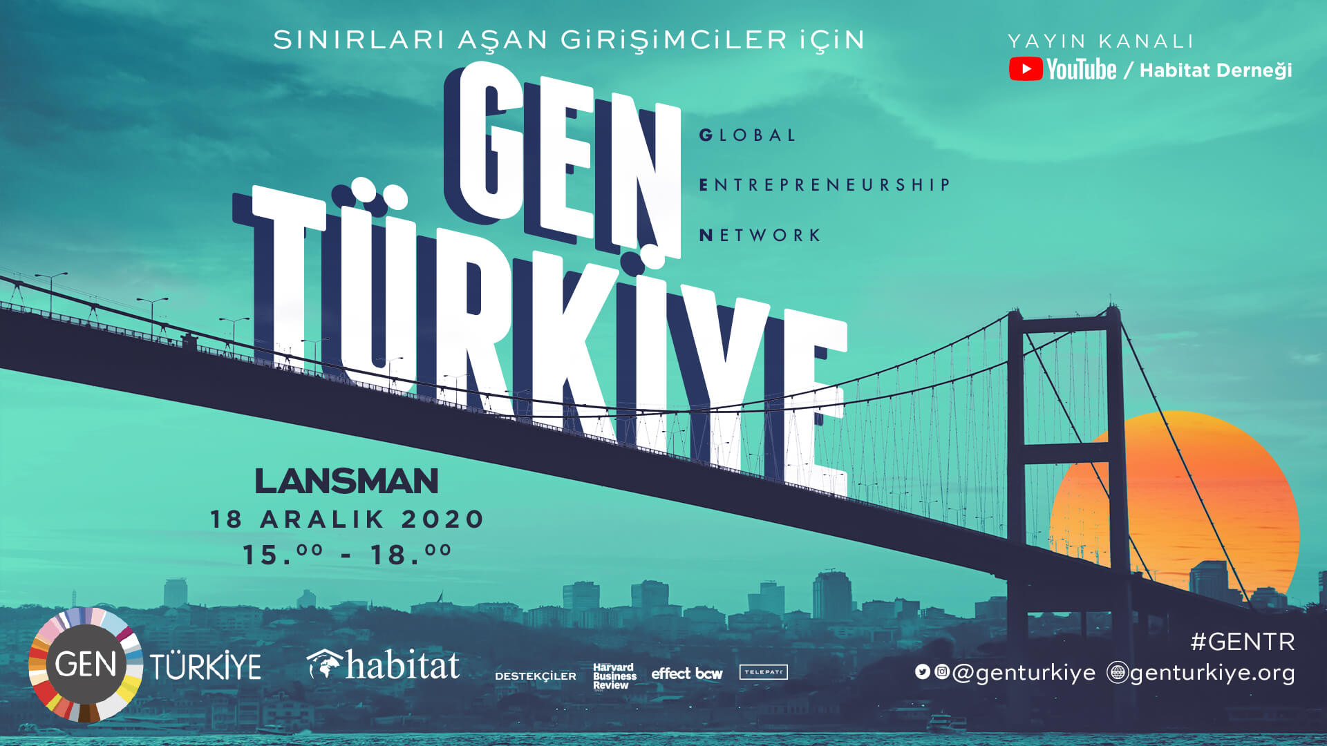 GEN (Global Girişimcilik Networkü) Türkiye kuruluyor!