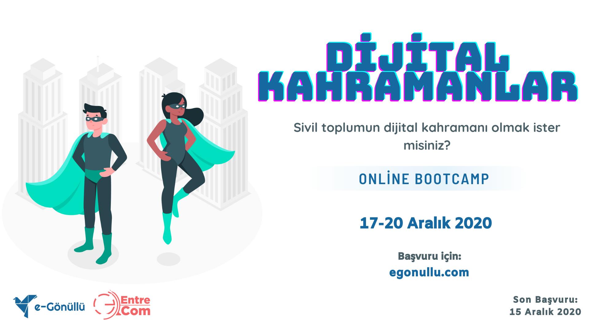 Dijital Kahramanlar Bootcamp