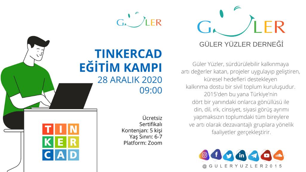 Gülen Yüzler Derneği, Tinkercard 3D Modelleme Eğitimi