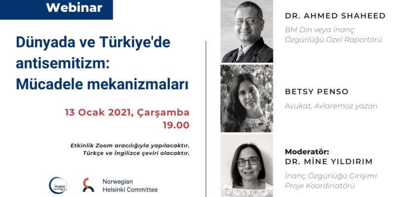 Dünyada ve Türkiye'de antisemitizm: Mücadele mekanizmalar