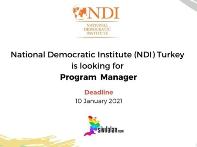 National Democratic Institute (NDI) Turkey is looking for Program Manager