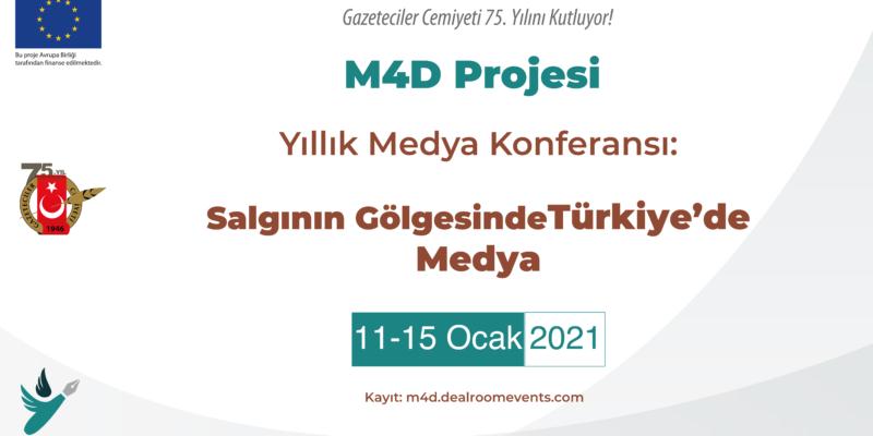 'Salgının Gölgesinde Türkiye'de Medya' çevrim içi konferans kayıtları başladı!