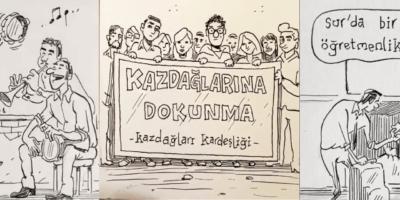 Türkiye'nin Umut Veren Sivil Hikayeleri Karikatürist Emrah Ablak'ın Çizgileriyle Buluştu