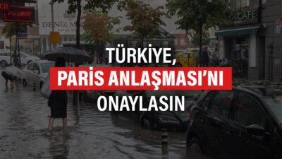 Sivil toplum kuruluşları Paris Anlaşması'nın onaylanması için imza kampanyası başlattı
