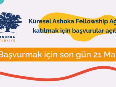 Ashoka Fellowship Başvuruları açıldı!