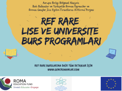 REF RARE (EU Regional Action for Roma Education) Burs programı