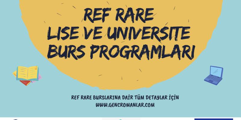 REF RARE (EU Regional Action for Roma Education) Burs programı