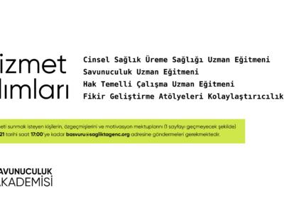 Sağlıkta Genç Yaklaşımlar Derneği(Y-PEER Türkiye) Hizmet Alımı