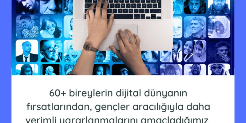 Fark Edenler Derneği, 60+ bireylerin dijital okur yazarlık yetkinliklerini artırmak için Z kuşağı ile birlikte geliştirdikleri projeleri için çözüm ortakları arıyor!
