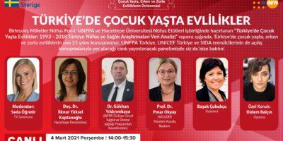 """UNFPA """"Türkiye'de Çocuk Yaşta Evliliklerin 25 Yılı"""" Raporu"""