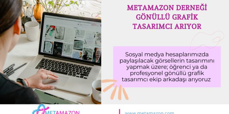 Metamazon- Metastatik Meme Kanseri Derneği- Gönüllü Tasarımcı Arıyor!