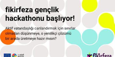 Fikirlerin aktif vatandaşlığı canlandırsın istiyorsan, gençlik hackathonuna davetlisin!